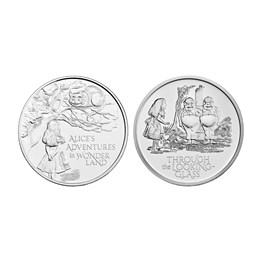 Alice's Adventures 2021 UK £5 Brilliant Uncirculated Two-Coin Series
