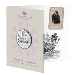 Through the Looking-Glass 2021 UK £5 Brilliant Uncirculated Coin