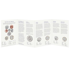 The 2021 United Kingdom Brilliant Uncirculated Annual Coin Set