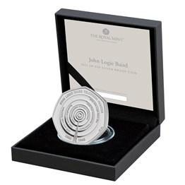 John Logie Baird 2021 UK 50p Silver Proof Coin