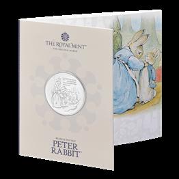 Peter Rabbit™ 2021 UK £5 Brilliant Uncirculated Coin