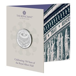 The 150th Anniversary of the Royal Albert Hall 2021 UK £5 Brilliant Uncirculated Coin