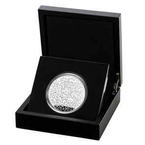 The 95th Birthday of Her Majesty the Queen 2021 Silver Proof Five-Ounce Coin