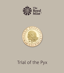 Trial of the Pyx Shakespeare Tragedies 2016 UK £2 Gold Proof Coin