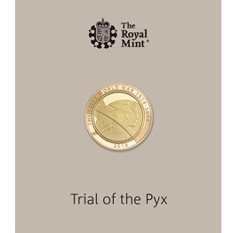 Trial of the Pyx The Army 2016 £2 Gold Proof Coin