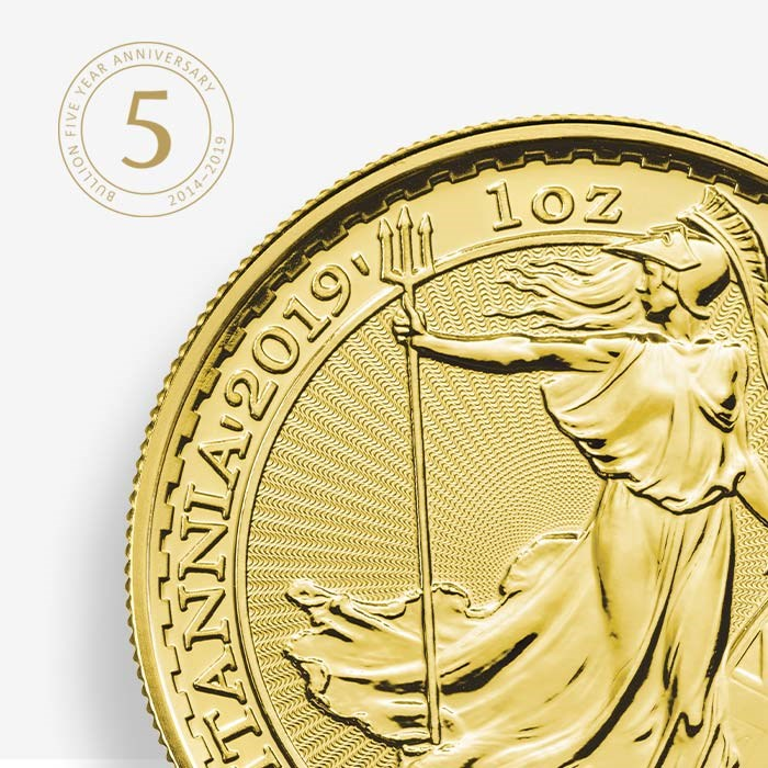Happy Birthday Royal Mint Bullion - A Golden Five Years