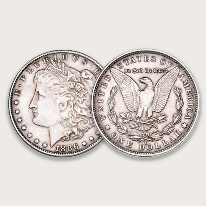 George T. Morgan – Silver Morgan Dollar