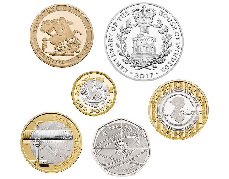 Money coins uk