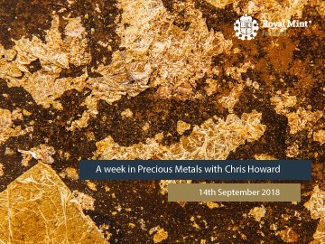 Blog Series 9: A Week in Precious Metals