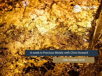 Blog Series 12: A Week in Precious Metals