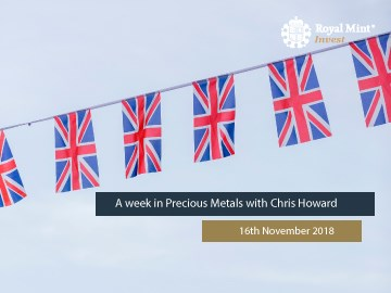 Blog Series 16: A Week in Precious Metals