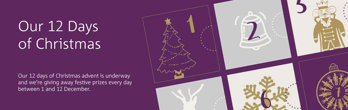 Click to enter our 12 days of Christmas competitions