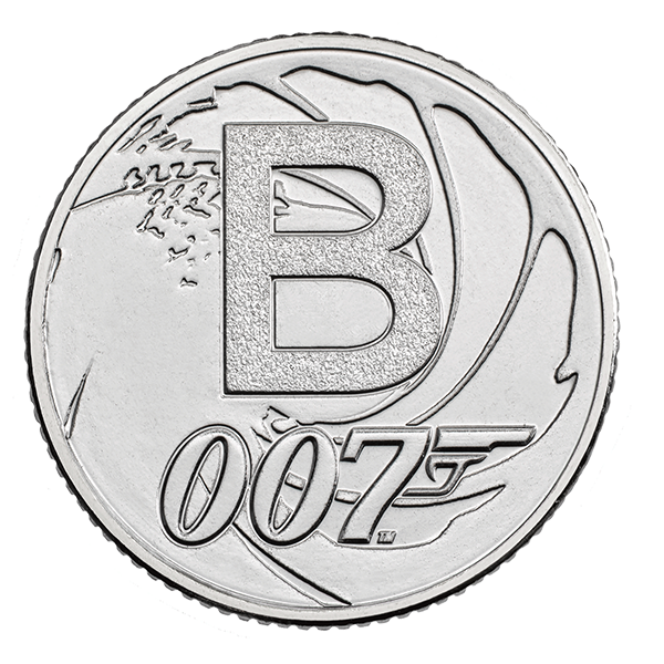 Bond 10 Pence Coin