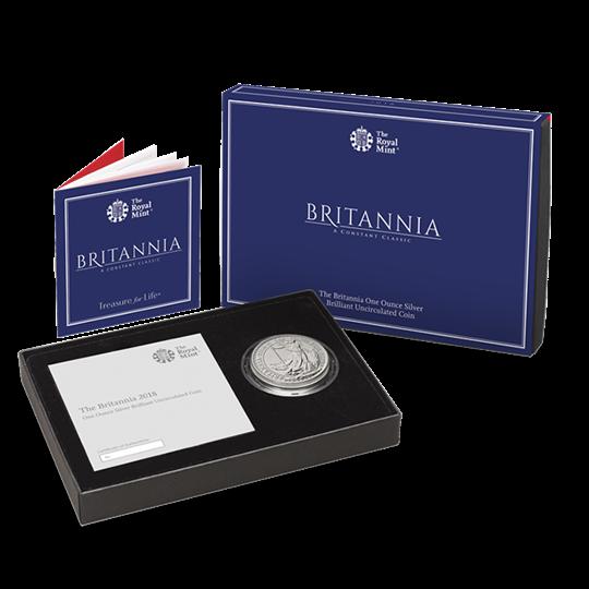 2018 Silver Britannia Coin