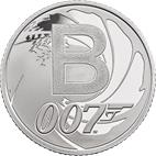 B - Bond... James Bond Silver 10 pence