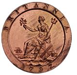 Britannia on British coins