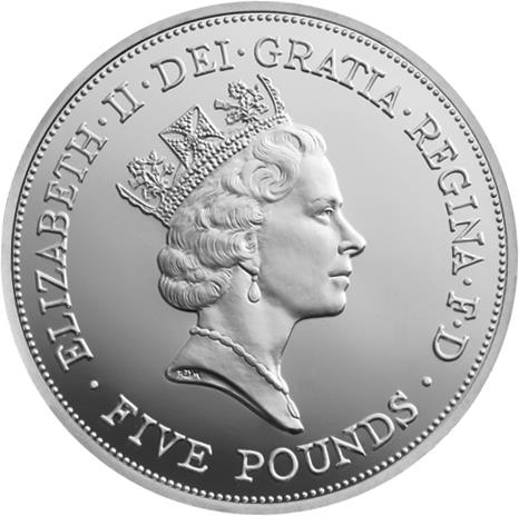 The five portraits of Her Majesty The Queen