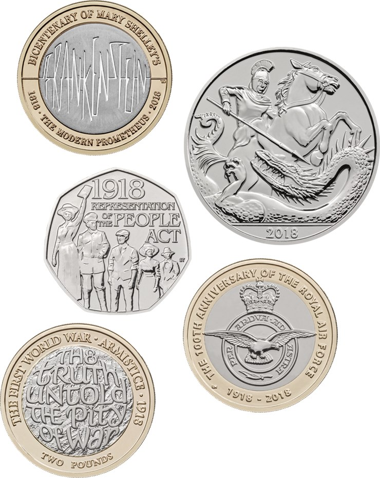 2018 Annual Sets | The Royal Mint