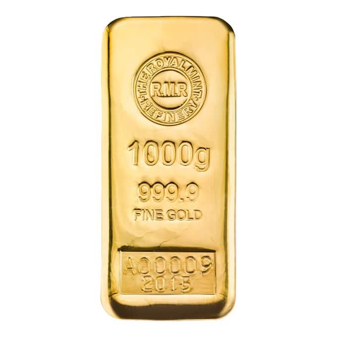 Bullion Bars The Royal Mint