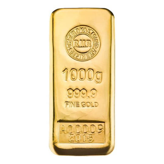 1kg Gold Bar Cast