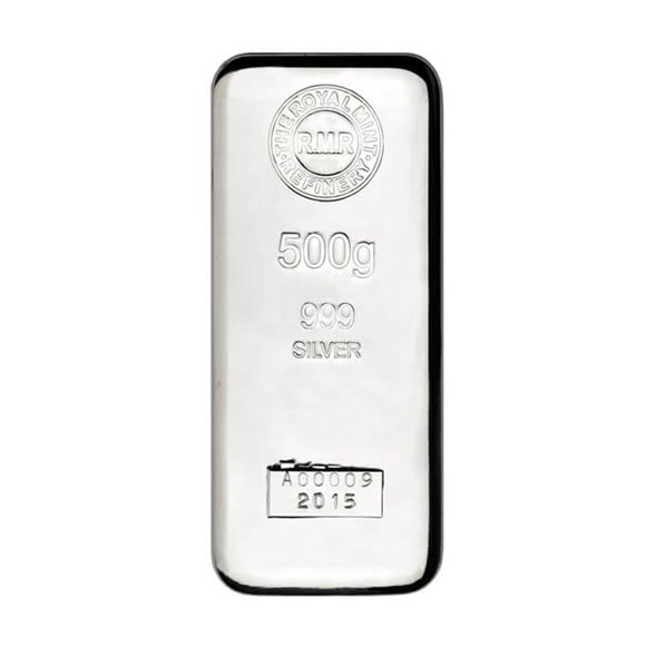 500g Silver Bar Cast | The Royal Mint