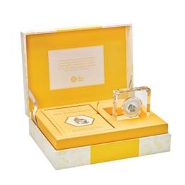Mrs. Tittlemouse 2018 UK 50p Silver Proof Coin & Book Gift Set