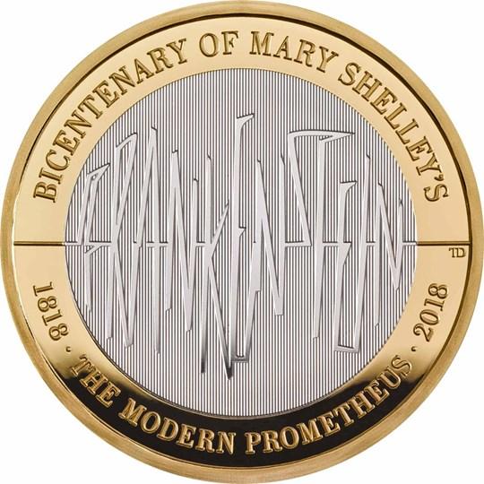 Frankenstein 2018 UK 2 Silver Proof Coin