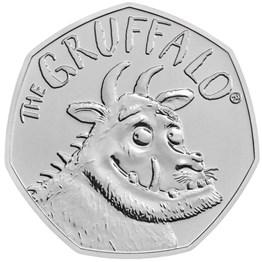 The Gruffalo 2019 UK 50p Brilliant Uncirculated Coin