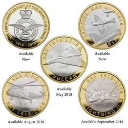 RAF Centenary 5-Coin Set