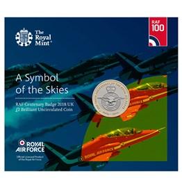 Brilliant Uncirculated RAF Centennial 5-Coin