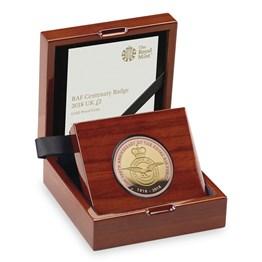 RAF Centenary 5-Coin Gold