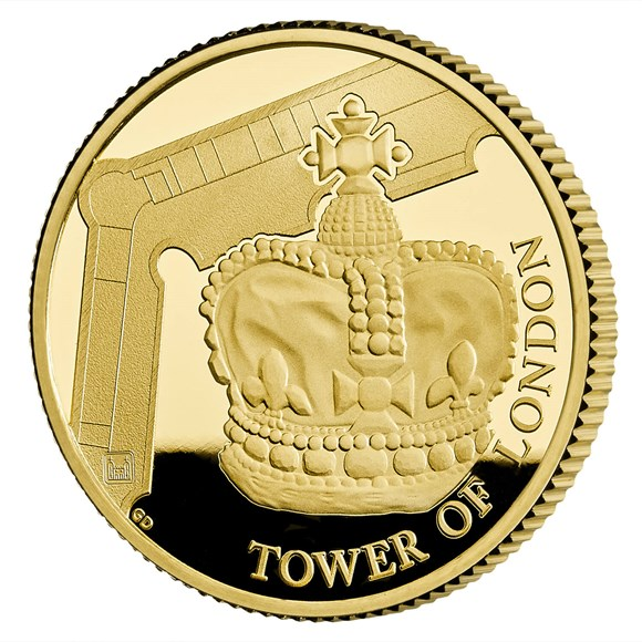 Crown Jewels 2019 UK Quarter-Ounce Gold Proof Coin