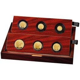 Britannia 2018 UK Premium 6-Coin Gold Proof Set
