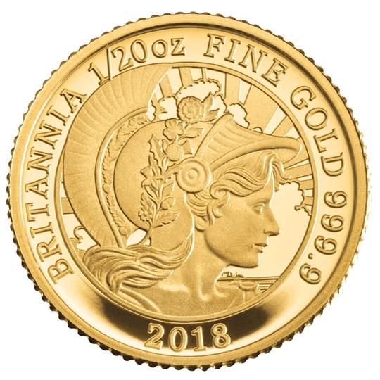 Britannia 2018 Uk Premium 6 Coin Gold Proof Set