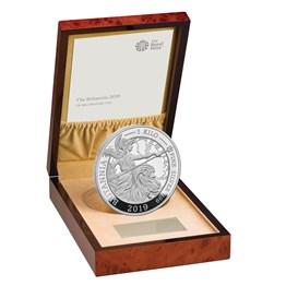 The Britannia 2019 UK Silver Proof Kilo Coin