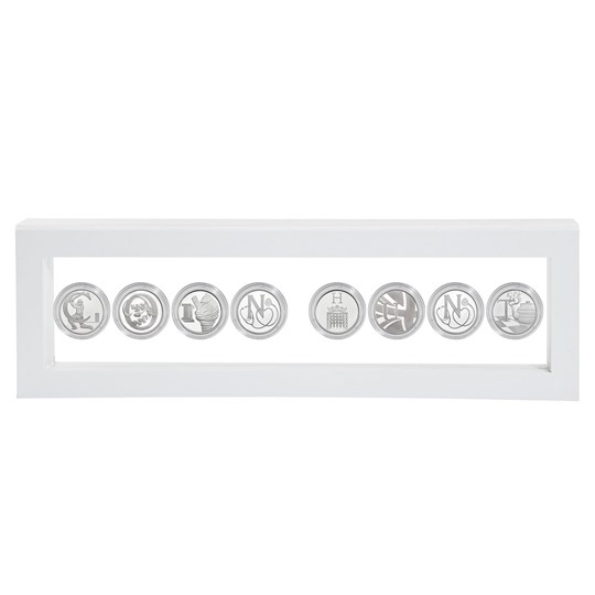 Great British Coin Hunt White Name Frame | The Royal Mint