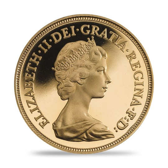 The 1984 Gold Proof Sovereign