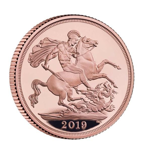 2019 Gold Sovereign | The Royal Mint flagship Gold Sovereign range