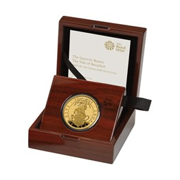 The Queen's Beasts The Yale of Beaufort 2019 UK One Ounce Gold Proof Coin