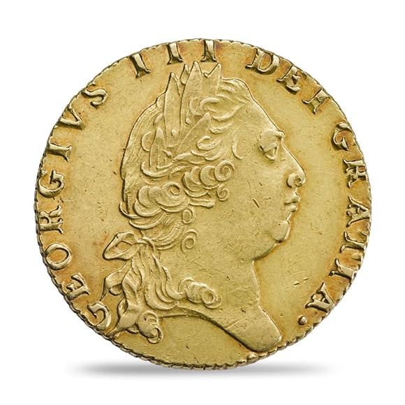 George Iii Spade Guinea 1787 1800