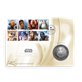 Royal Min Image of Star Wars Stamp and Coin Set for C-3PO
