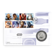 Royal Min Image of Star Wars Stamp and Coin Set for R2D2