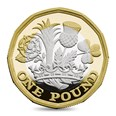 Sterling Silver Proof One-Pound Coin