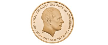 The Royal Mint celebrates the contribution of Prince Philip to public life