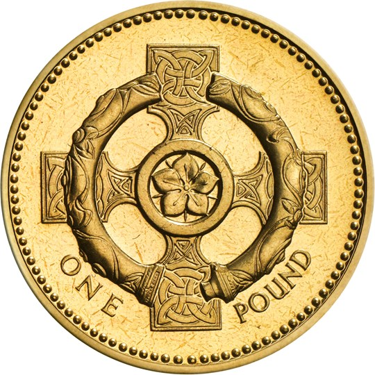 1996 2001 One Pound Coin The Royal Mint