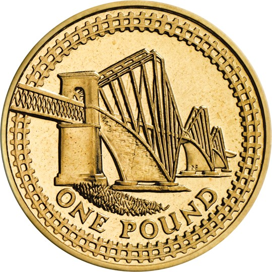 2004 One Pound Coin The Royal Mint