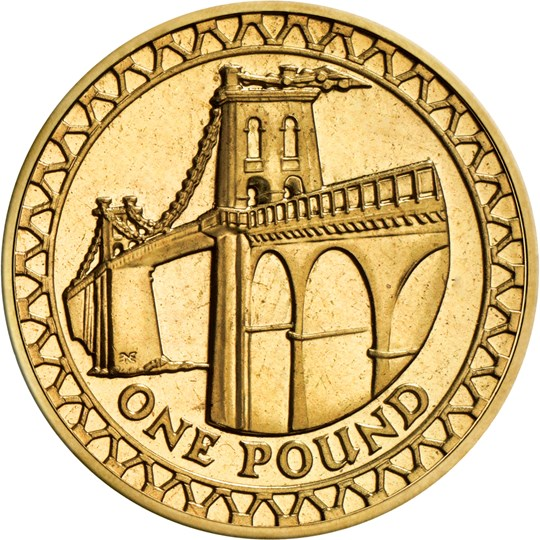 2005 One Pound Coin The Royal Mint