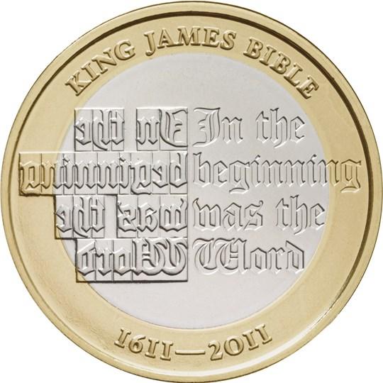 2011 King James Bible £2 | The Royal Mint